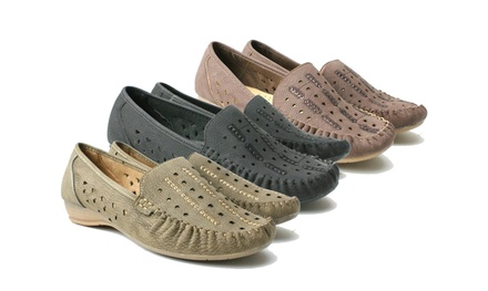 Women's Slipon Loafers in Choice of Colour