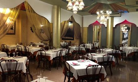 Cocina hindú para 2 o 4 con entrante, principal, acompañamiento, postre y vino o bebida desde 24,90 € en Shish Mahal