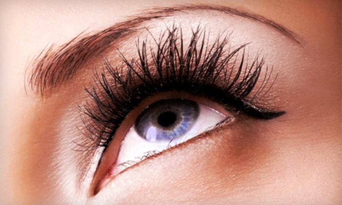 All Dolled Up Hair & Skin - Folsom: Eyelash Extensions with Option of Waterproof Tint at All Dolled Up Hair, Skin and Makeup in Folsom (Up to 54% Off)