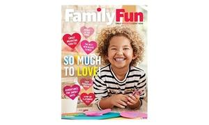 37% Off FamilyFun Magazine Subscription