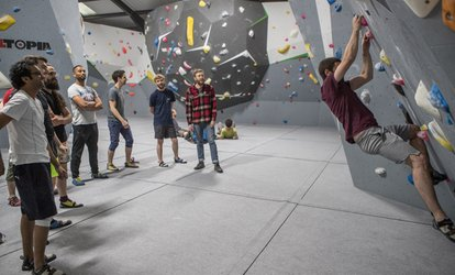 image for One-Hour Climbing, Coaching and Day Pass for One or Two at Strong Hold London (Up to 71% Off)