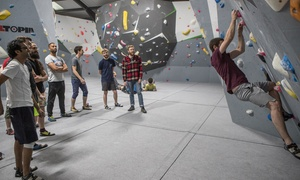 Strong Hold: One-Hour Climbing, Coaching and Day Pass for One or Two at Strong Hold London (Up to 71% Off)