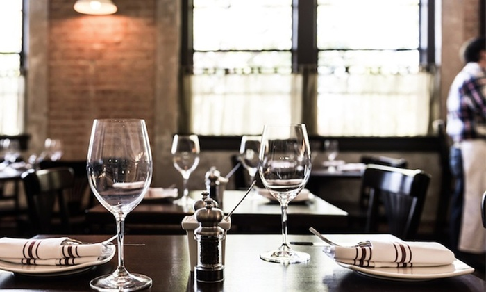 Boulevardier - Dallas: $65 for a Three-Course French Bistro Dinner for Two or $125 for a Three-Course Dinner for Four. Tuesday-Thursday Only.