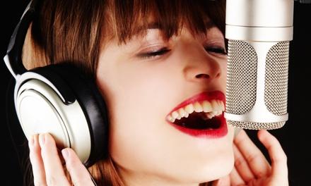 Fino a 12 lezioni di canto o musica, individuale o collettivo