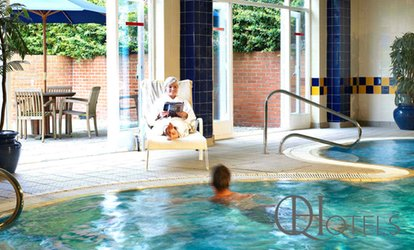 Spa Access with Two Treatments and Refreshments for One or Two at 4* Chesford Grange (Up to 52% Off)
