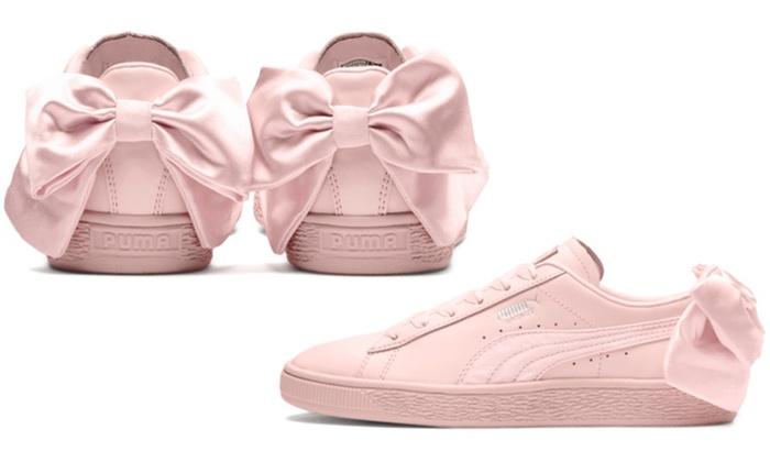 baskets puma bow