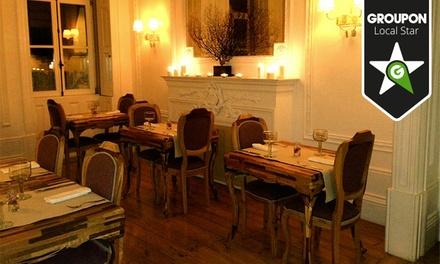 Em Carne Viva — Av. Boavista: menu vegetariano para duas pessoas com couverts, pratos principais e bebidas desde 19,90€