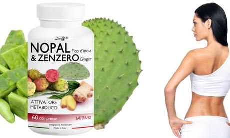 Hasta 180 comprimidos de Nopal y jengibre Line@Diet