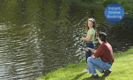 Entry + Rod and Bait: 1 Child $7, 1 Adult $10, or Family of 4 $20 at Cripps Family Fish Farm Up to $35 Value