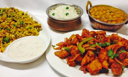 Indian and Nepalese Cuisine at Everest Cafe (Up to 53% Off). Two Options Available.