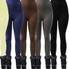 Junior Women's High-Waist Fleece-Lined Leggings (6-Pack)