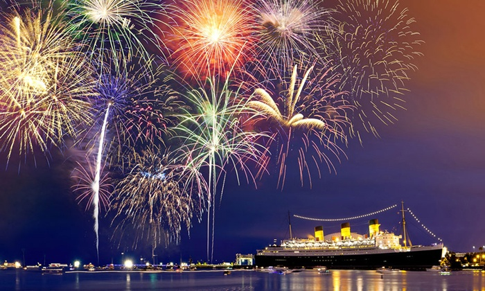 Queen Mary  - Long Beach, CA: $27 to Attend  Queen Mary 4th of July Party ($60 Value)