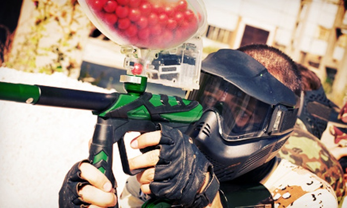 Tank's Paintball Park - Sugarland: Paintball Package for Two, Four, or Six Plus 200 Paintballs Per Person at Tank's Paintball Park (Half Off)