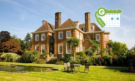 Surrey: Standard Double, Comfy King or King Room for Two with Breakfast and Dinner Credit at 4* Barnett Hill Hotel