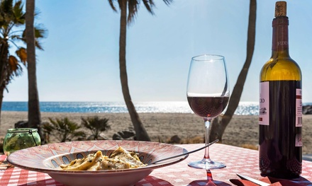 Menú italiano para 2 con entrante, principal, postre y bebida con opción a botella de lambrusco desde 22,99 € en Buono