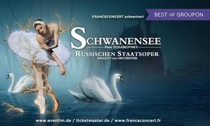 """FRANCECONCERT präsentiert SCHWANENSEE: 1 Ticket für die Russische Staatsoper mit """"Schwanensee"""" am 10.05. in Düsseldorf oder am 11.05. in Stuttgart (40% sparen)"""