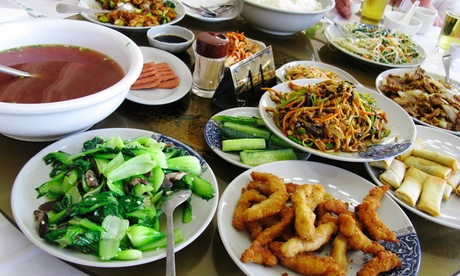 Chinesisches All-you-can-eat-Abendbuffet inkl. mongolischem Grill für 2 Personen
