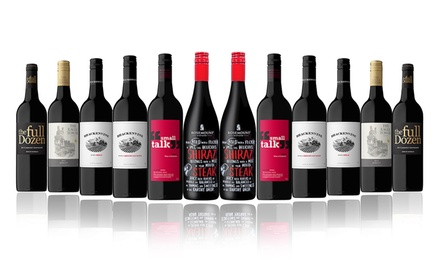 Free Shipping: $69.95 for a 12Bottle Red Mixed Wine Case with Rosemount Shiraz Don't Pay $189