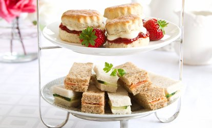 image for Afternoon Tea for Two or Four at Lansdowne Hotel (50% Off)