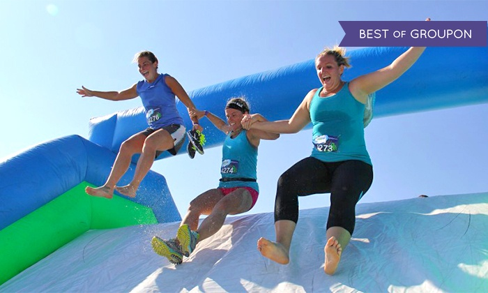 Insane inflatable 5k in temple tx groupon for Insane inflatable 5k shirt