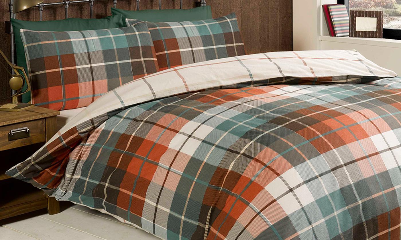 Rapport Home Soft Flannelette Bedding Duvet Set