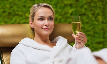 image for Spa Entry with Afternoon Tea and Prosecco at Brook Mollington Banastre Hotel and Spa
