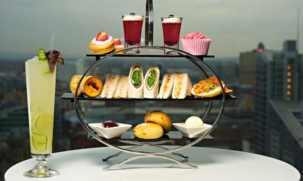Afternoon Tea with Cocktail Each for Two or Four at Cloud 23