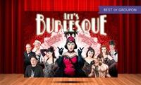 """1 Ticket für """"Lets Burlesque!"""" im Januar in Köln (25% sparen)"""