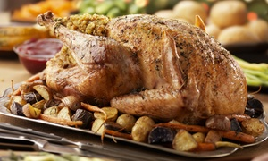 The Bell Inn: Carvery Lunch With Dessert For Two or Four at The Bell Inn (Up to 50% Off)