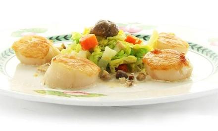 Menu en 3 services avec entrée, plat et dessert au choix pour 2 personnes à 39,90 € au Petit Marguery 13e