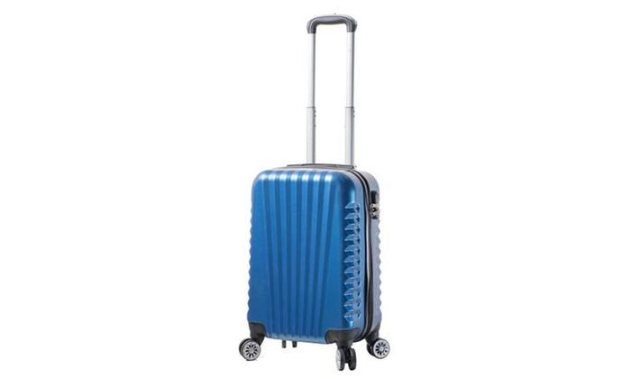 Blue Viaggi Mia Italy Catania Hardside Spinner 3pc Set