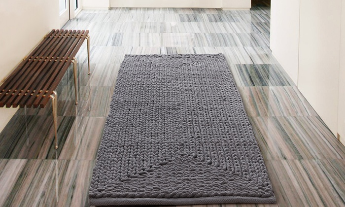 Up To 74 Off On Oversized Bath Rug Livingsocial Shop