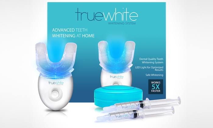 Up To 85 Off On Truewhite Teeth Whitening System Groupon Goods