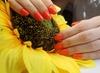 Gel nail service including Russian manicure or mini pedicure