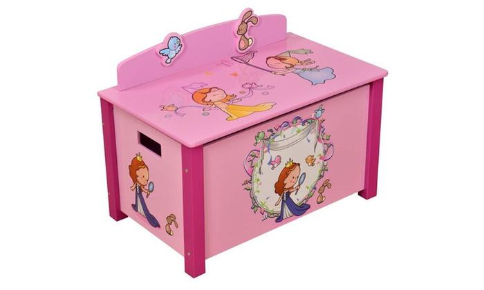 bo tes de rangement pour jouets groupon. Black Bedroom Furniture Sets. Home Design Ideas