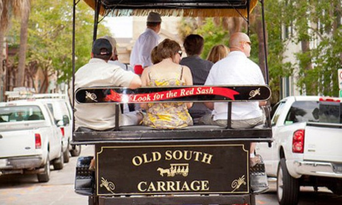 Old South Carriage Co. - Downtown: One or Two Carriage Rides from Old South Carriage Co. (Up to 52% Off)