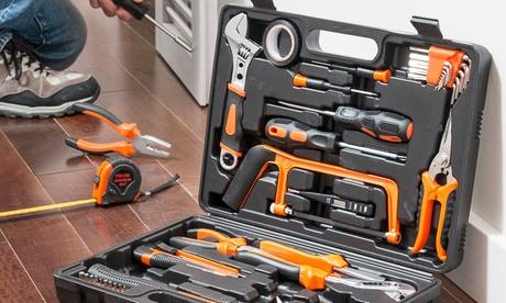 Maletín de herramientas de 108 piezas