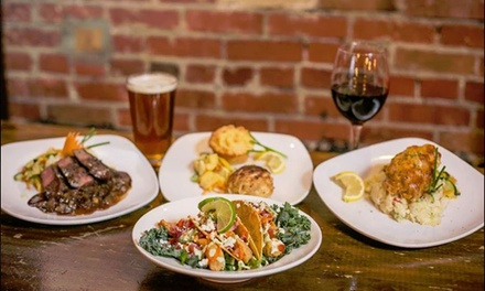 $30 or $60 Worth of Food For Two or Four or More at The Cellar Door Restaurant (Up to 50% Off)
