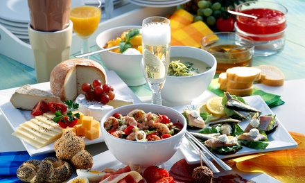 Champagne Breakfast for Up to Six at Hilton Milton Keynes (Up to 67% Off)