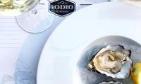 Fino a 36 ostriche di varietà differente abbinate a vini pregiati da Iodio Fish Restaurant (sconto fino a 60%)