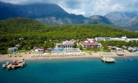 Antalya: 5 oder 7 Nächte für Zwei mit Ultra All Inclusive im 5* Diamond Elite & Spa Hote, opt. Transfer vom Flughafen