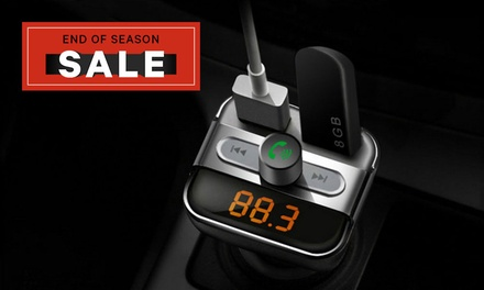 4in1 Wireless Bluetooth Car Kit: One $16.95 or Two $29.95