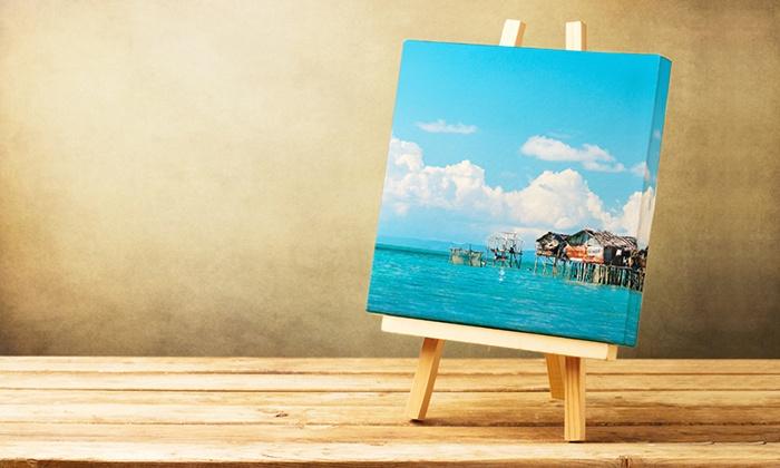 Custom Canvas Prints - Photobook America   Groupon