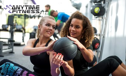 10 Gym Passes at Anytime Fitness, Multiple Locations (Up to 87% Off)