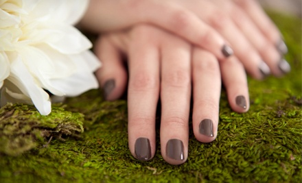 One or Three Mani-Pedis with OPI Gel Polish and Hot Stones at Tranquil Touch Spa (Up to 59% Off)