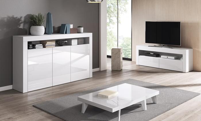Luna TV Unit, Sideboard or Set of Both