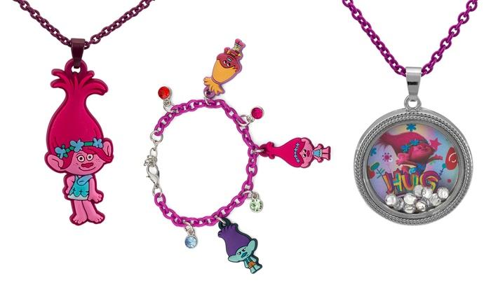 Dreamworks Trolls Costume Jewelry For Children