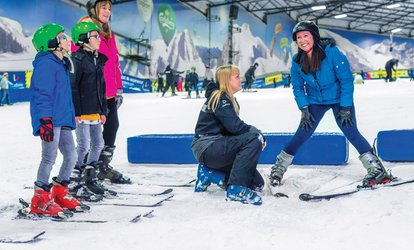 image for Two- or Three-Hour Beginner Ski or Snowboard Lesson for One or Two at SnowDome (Up to 53% Off)