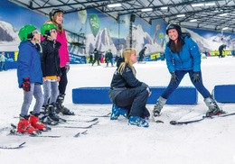 SnowDome: Two- or Three-Hour Beginner Ski or Snowboard Lesson for One or Two at SnowDome (Up to 53% Off)