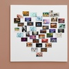 Custom Heart- or Alphabet-Shaped Photo Collage